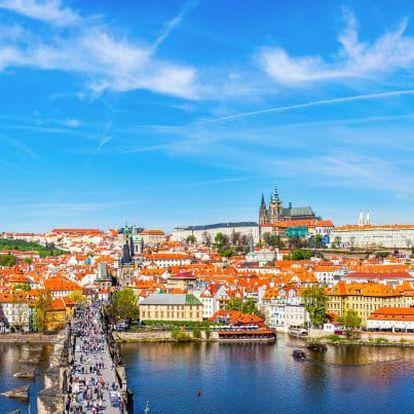 Praha luxusně se snídaněmi