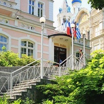 Exkluzivní letní pobyt pro dva v Karlových Varech. Platnost poukazu i v době konání MFF.