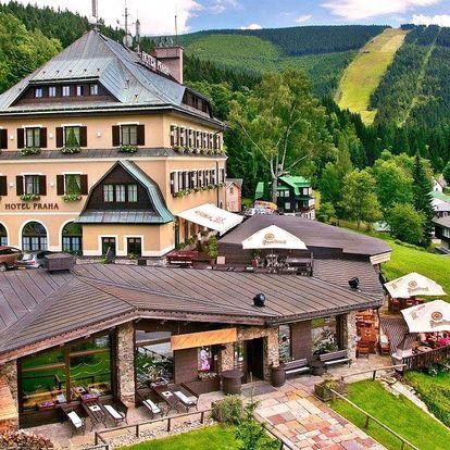 Skvělé léto v Krkonoších: polopenze a wellness