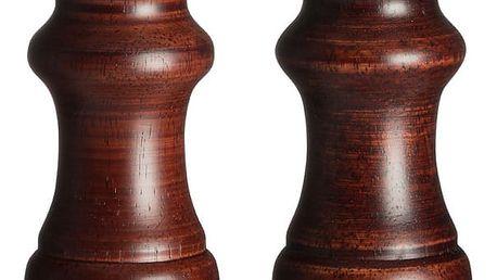 Sada 2 dřevěných mlýnků na pepř a sůl Premier Housewares John