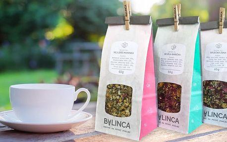 Bylinkové čajové směsi vyrobené v ČR