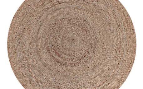 Jutový koberec LABEL51 Rug, Ø180 cm
