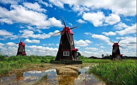 Nejkrásnější národní parky Holandska, Amsterdam a Zaanse Schans. 5 denní zájezd s ubytováním