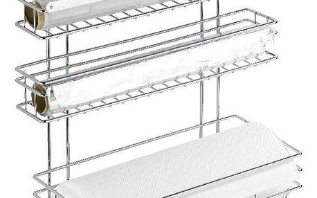 Samodržící držák na kuchyňské utěrky a folie Wenko Turbo-Loc, až 40kg