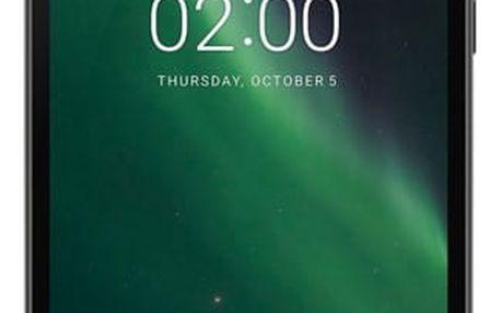 Mobilní telefon Nokia 2 Dual SIM černý + dárek (11E1MB01A13)