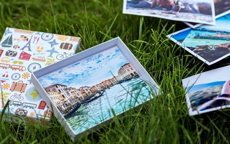 Vyvolání 32 fotografií v designové krabičce