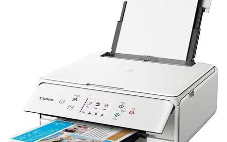 Tiskárna multifunkční Canon PIXMA TS6151 bílý (2229C041)