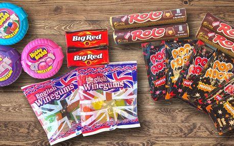 Balíčky světoznámých sladkostí pro děti i dospělé