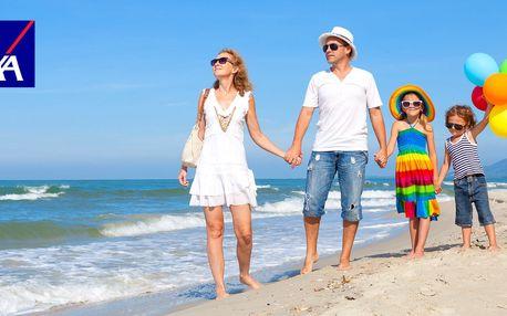 54% sleva na cestovní pojištění AXA