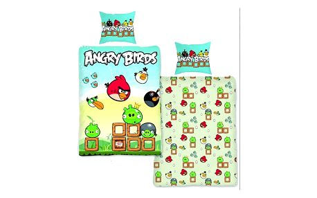 Bavlněné povlečení Angry Birds - VÝPRODEJ