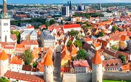 Poznávací zájezd do pobaltských zemí a Helsinek na 6 dní včetně ubytování pro jednoho.