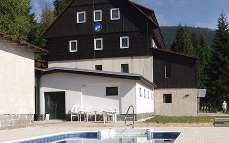 Dovolená pro dva s polopenzí a vyhřívaným bazénem na 2 - 8 dní v Horském hotelu Flora.