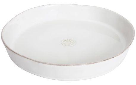 Bílá kameninová forma na koláč Costa Nova Nova,⌀30 cm