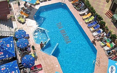 Bulharsko, Slunečné pobřeží - Hotel TIA MARIA*** s polopenzí nebo all inclusive, 250m od pláže