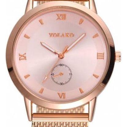 Stylové hodinky s římskými číslicemi - více barev