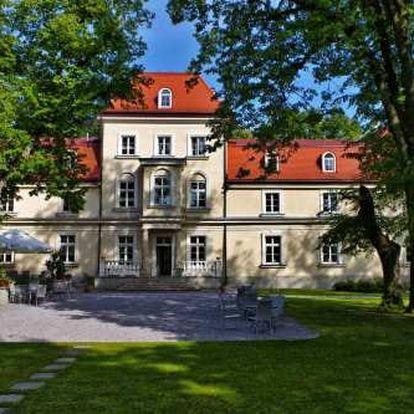 Nádherný pobyt s wellness u Krakova ve 4* hotelu uprostřed zeleně za super cenu