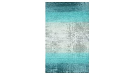 Tyrkysovošedý koberec Kate Louise, 80x150cm