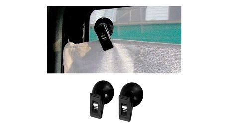 Přísavný držák na sklo do auta 2 ks