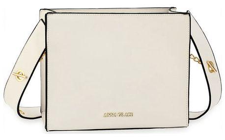 Dámská bílá kabelka Siara 596