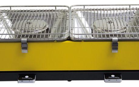 Přenosný Gril Feuerdesign Santorin Barva: žlutá