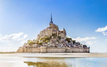 Krásy Normandie a Bretaně na 3 noci vč. snídaně