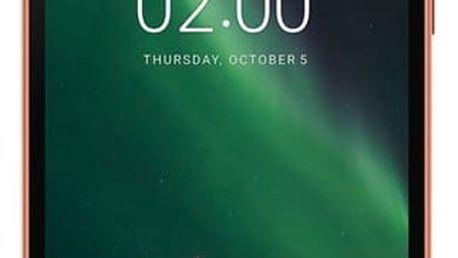 Mobilní telefon Nokia 2 Dual SIM černý/bronzový + dárek (11E1MM01A11)