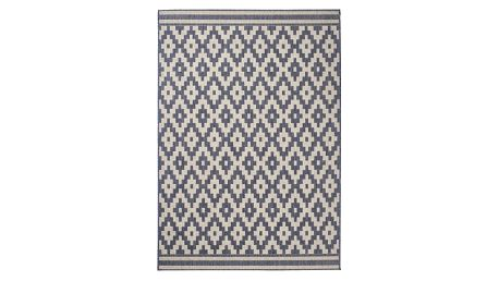 Antracitový koberec Think Rugs Cottage, 120 x170cm
