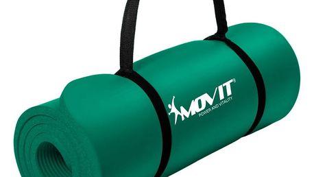 MOVIT 9616 Podložka na cvičení 190 x 60 x 1,5 cm - zelená
