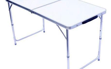 Hliníkový sklopný přenosný stůl - 120x60cm