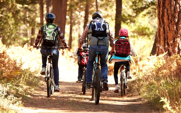 Cyklovýlety na Šumavě s dětmi