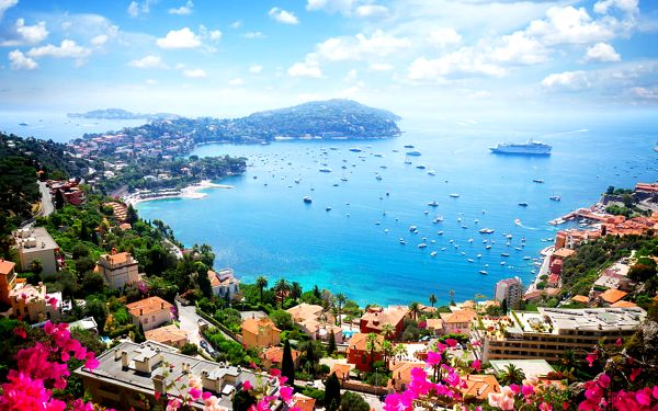 Poznávací zájezdy na Azurové pobřeží