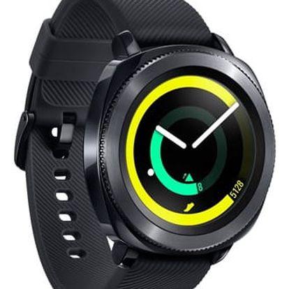 Chytré hodinky Samsung Gear Sport černý (SM-R600NZKAXEZ)