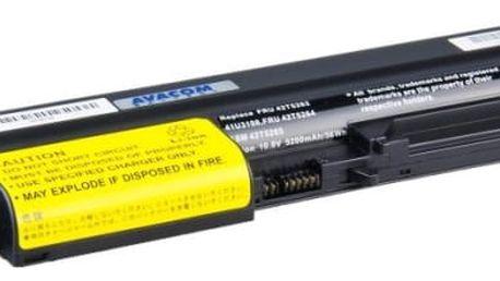 Baterie Avacom pro Lenovo ThinkPad R61/T61/R400/T400 Li-ion 10,8V 5200mAh/56Wh (NOLE-R61h-806)