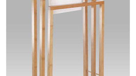 Stojan na ručníky bambusový