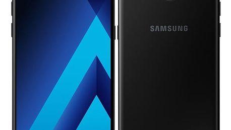 Mobilní telefon Samsung Galaxy A5 (2017) černý + dárek (SM-A520FZKAETL)