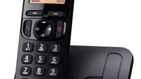 Panasonic KX-TGC210FXB (KX-TGC210FXB) černý