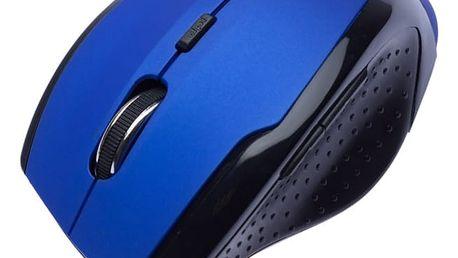 Myš Connect IT Wireless CI-155 modrá (/ optická / 5 tlačítek / 1600dpi) (CI-155)