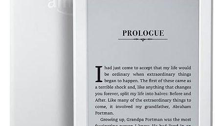 Amazon Kindle 8 TOUCH Wi-Fi verze s reklamou (EBKAM1148) bílá