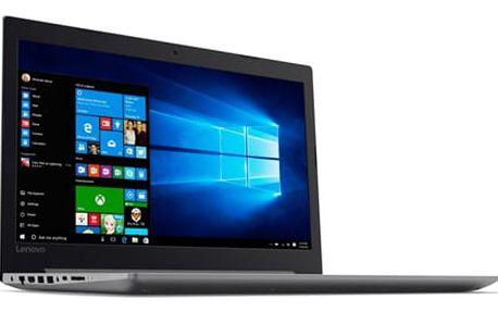 Notebook Lenovo 320-15IKBRN (81BG000KCK) šedý Software F-Secure SAFE, 3 zařízení / 6 měsíců + Monitorovací software Pinya Guard - licence na 6 měsíců v hodnotě 1 178 Kč + DOPRAVA ZDARMA