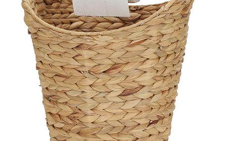 Držák na toaletní papír z vodního hyacintu A Simple Mess Kurv