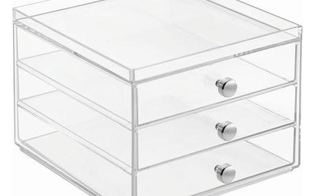 Organizér se 3 zásuvkami InterDesign Wers,výška13 cm