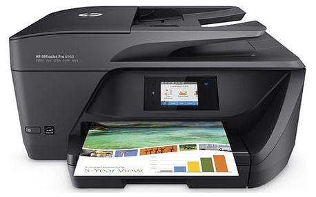 Tiskárna multifunkční HP Officejet Pro 6960 černá (J7K33A#625)