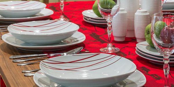 SENCILLA Jídelní souprava talířů z porcelánu 18dílná, MÄSER2