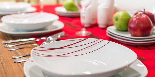 SENCILLA Jídelní souprava talířů z porcelánu 18dílná, MÄSER3