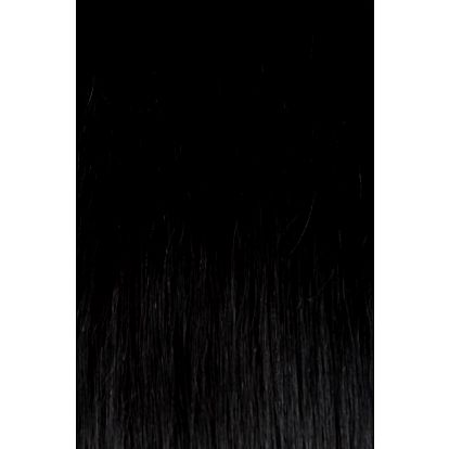 CLIP IN vlasy - set 60 cm uhlově černá
