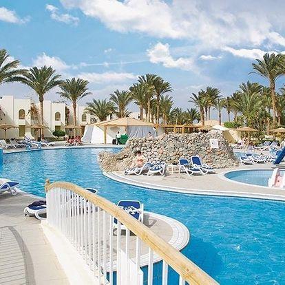 Egypt - Hurghada na 8 dní, all inclusive s dopravou letecky z Prahy přímo na pláži