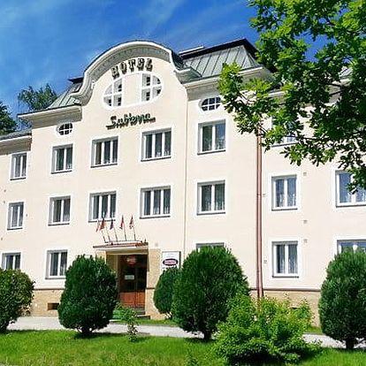 Letní wellness pobyt s polopenzí v hotelu Subterra*** v Krušných horách