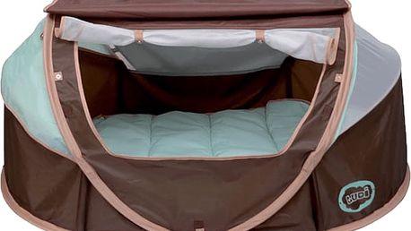 LUDI Stan pro miminko anti-UV Nomad - hnědý