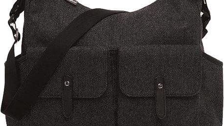BABYMEL Přebalovací taška Frankie – Tweed Grey