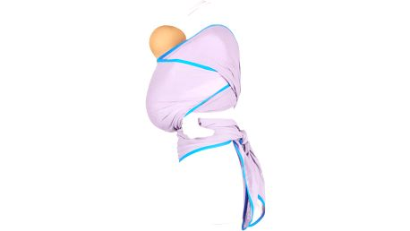 WE MADE ME Šátek dětský Wuti Wrap - Lavender